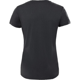 The North Face Reaxion Ampere Crew Shirt Dam tnf black heather